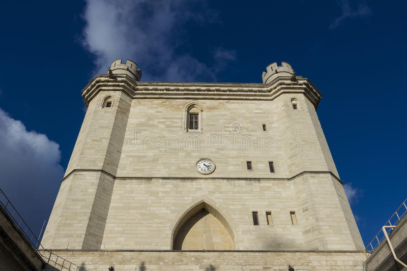 El castillo de Vincennes, París, Francia fotos de archivo libres de regalías