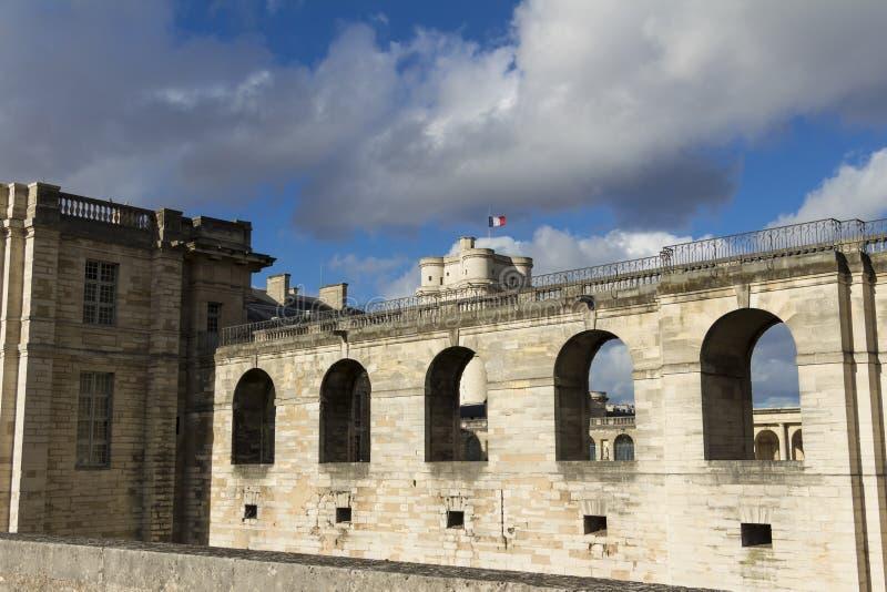 El castillo de Vinecennes, Francia fotos de archivo libres de regalías