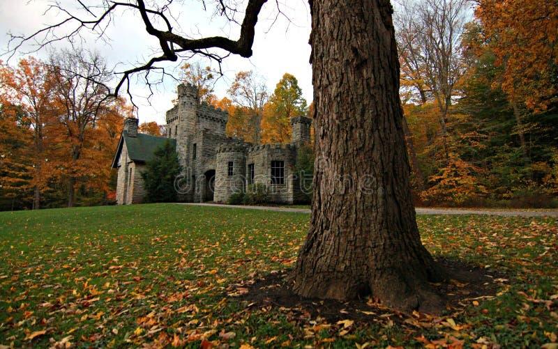 El castillo del escudero, Cleveland MetroParks, reserva del disgusto, Ohio fotos de archivo libres de regalías