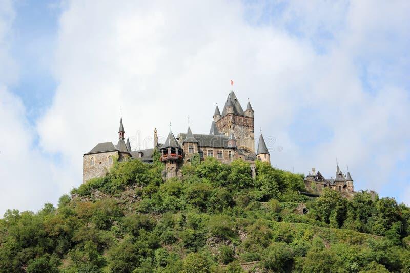 El castillo imperial de Cochem (Reichsburg), Alemania fotografía de archivo libre de regalías