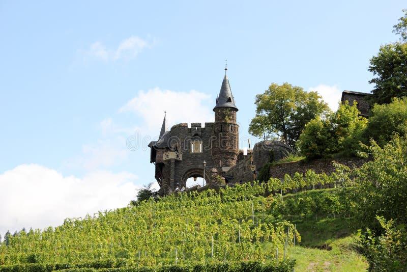 El castillo imperial de Cochem (Reichsburg), Alemania imagen de archivo