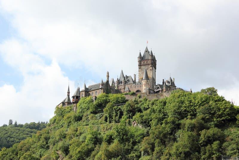 El castillo imperial de Cochem (Reichsburg), Alemania foto de archivo libre de regalías