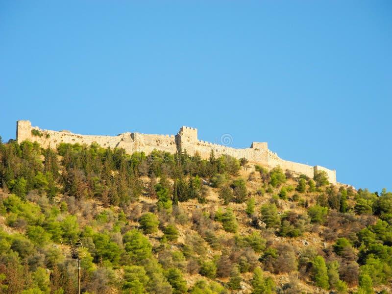 El castillo Larissa imagen de archivo libre de regalías