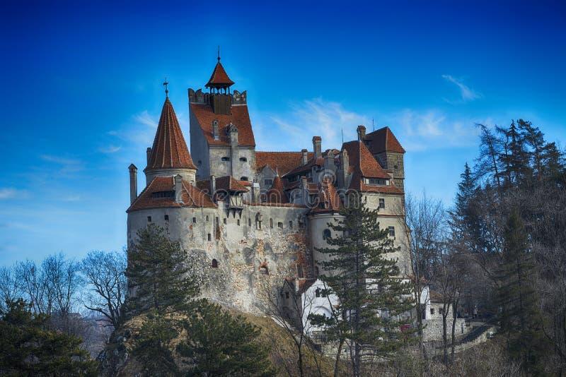 El castillo medieval del salvado foto de archivo