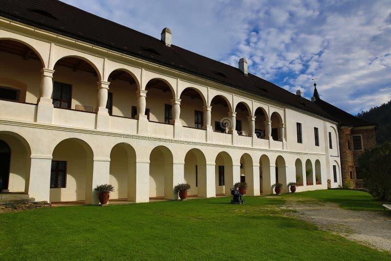 El castillo romántico de Velhartice Situado en el bosque bohemio, el castillo fue poseído por el ek del ¡de BuÅ de Velhartice fotografía de archivo libre de regalías