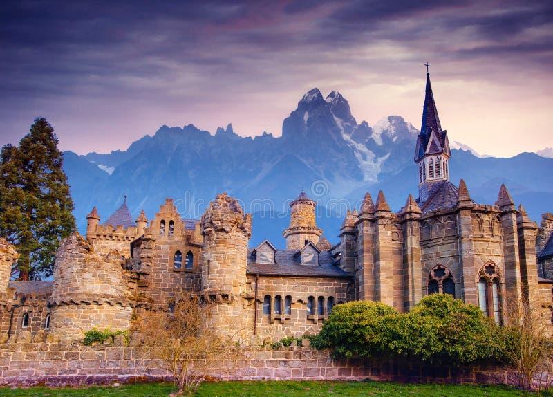 El castillo Visiónes fantásticas la belleza del mundo alemania imágenes de archivo libres de regalías