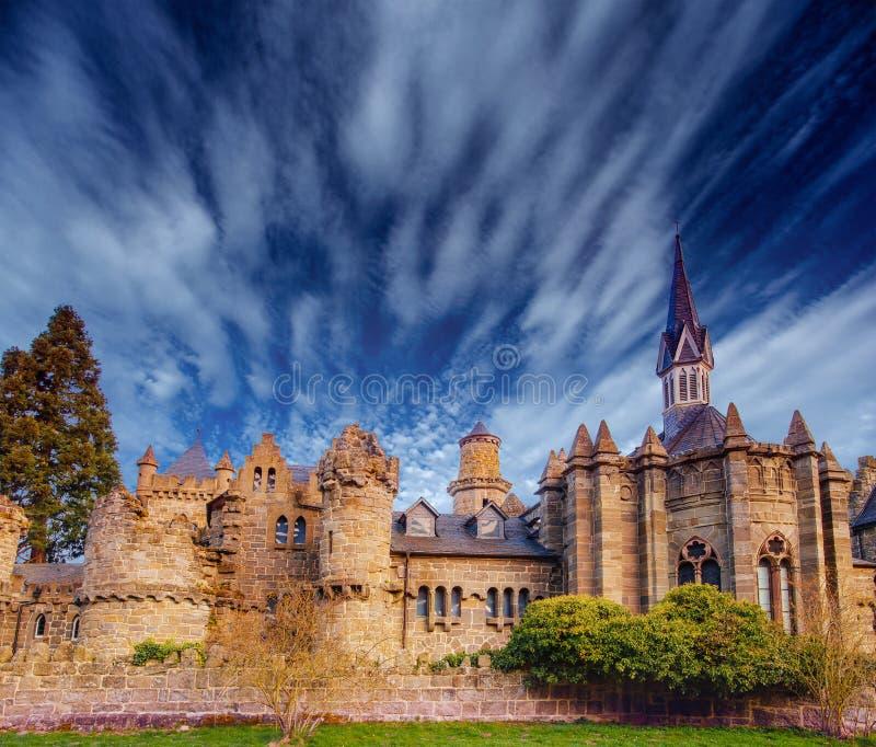 El castillo Visiónes fantásticas la belleza del mundo alemania fotos de archivo