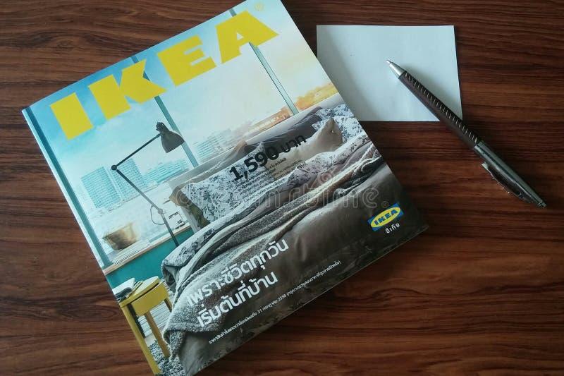 el catálogo de los ikea imagenes de archivo