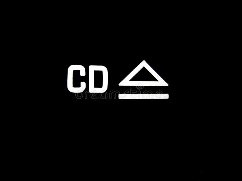 El CD expulsa el botón fotografía de archivo libre de regalías