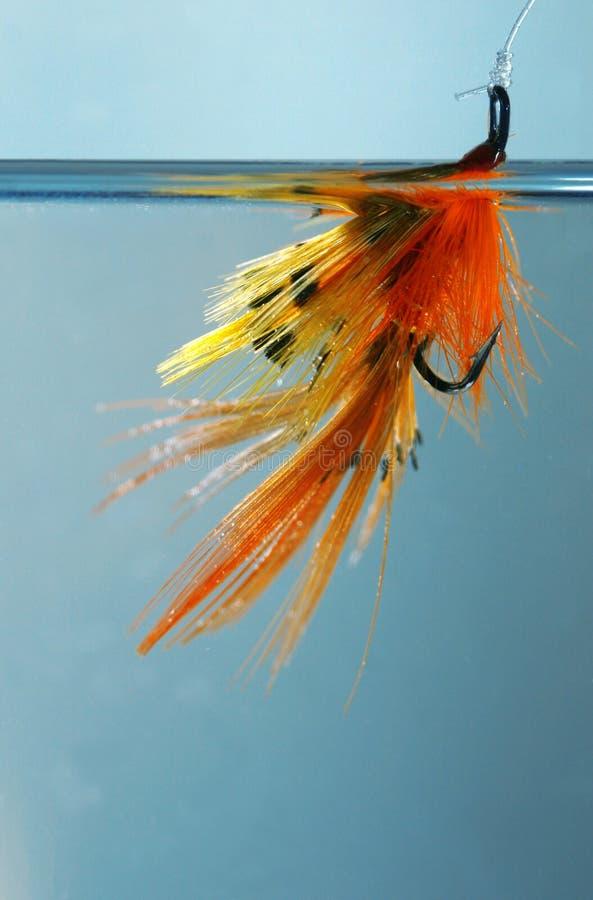 Download El cebo foto de archivo. Imagen de hooks, anaranjado, angler - 175492