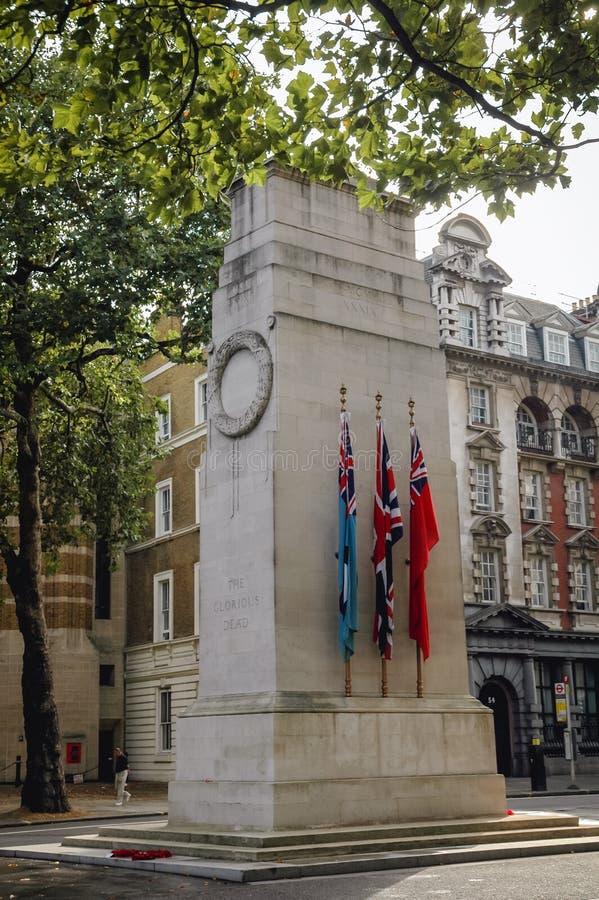 El cenotafio en Londres fotografía de archivo libre de regalías