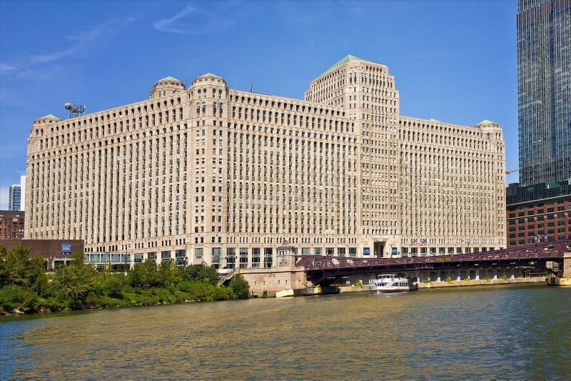 El centro comercial de mercancía, Chicago Illinois imagen de archivo