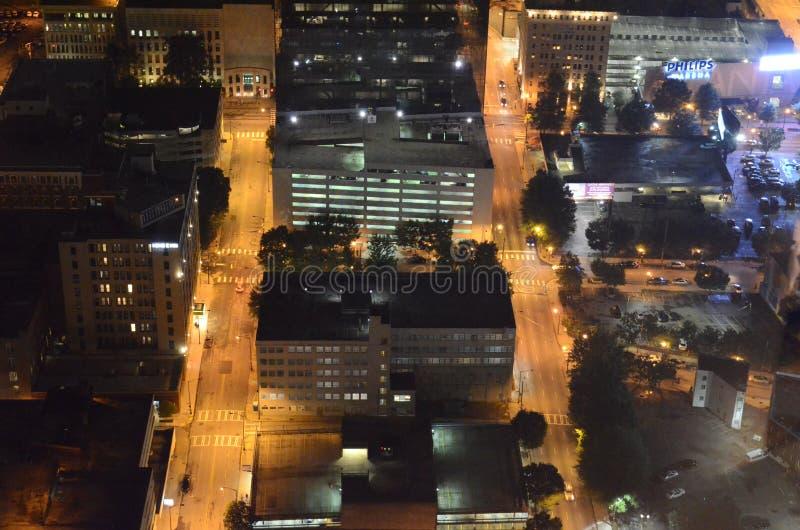 El centro de Atlanta foto de archivo