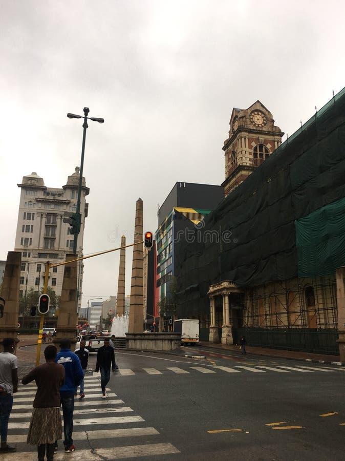 El centro de ciudad foto de archivo libre de regalías
