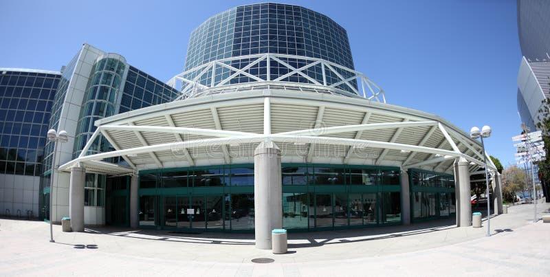 El centro de convenio en Los Ángeles céntrico fotos de archivo