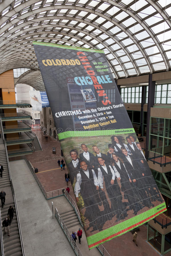 El centro de Denver para las artes interpretativas imágenes de archivo libres de regalías