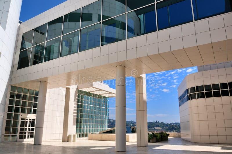 El centro de Getty en Los Ángeles, Calif imágenes de archivo libres de regalías