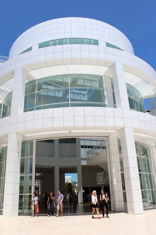 El centro de Getty - Los Ángeles fotografía de archivo libre de regalías