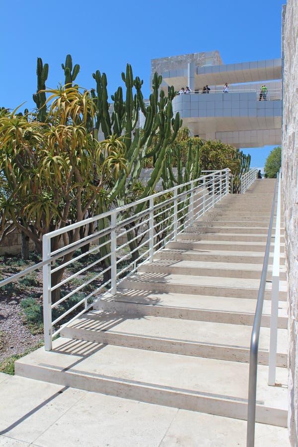 El centro de Getty - Los Ángeles imagen de archivo libre de regalías