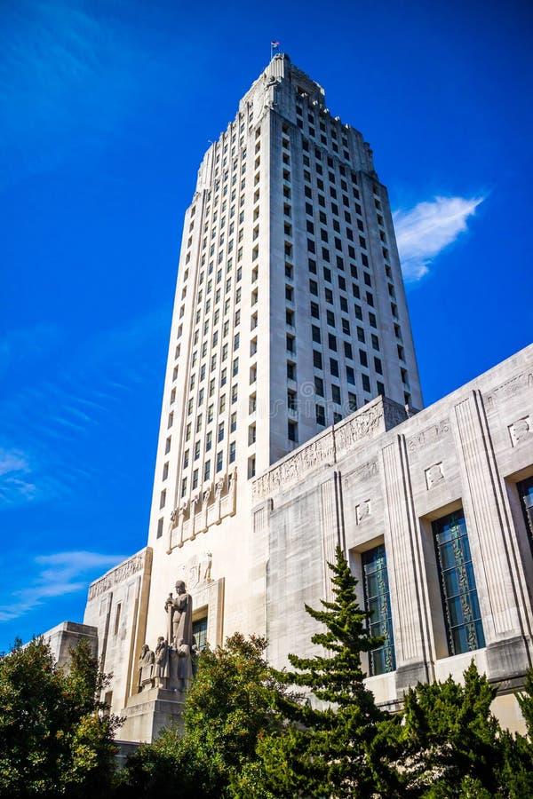 El centro de la administración en Baton Rouge, Luisiana imagen de archivo