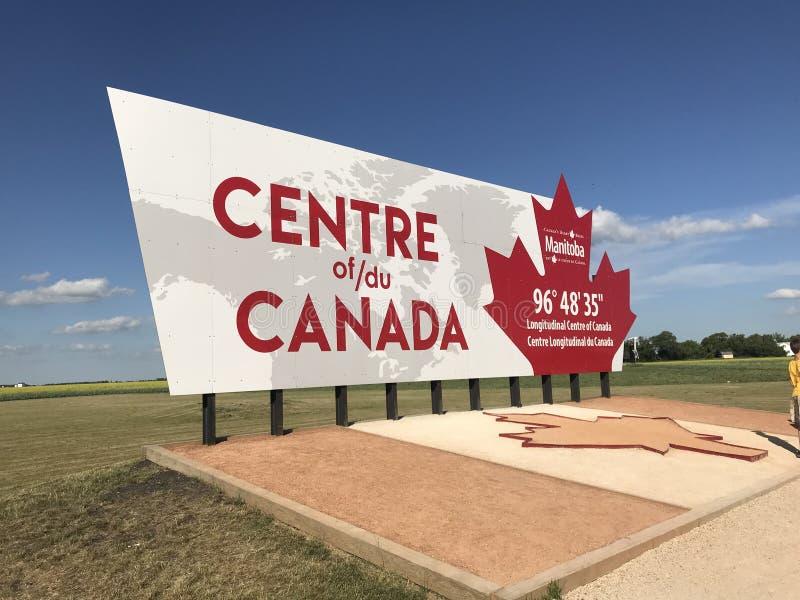 El centro del monumento de Canadá fotografía de archivo libre de regalías