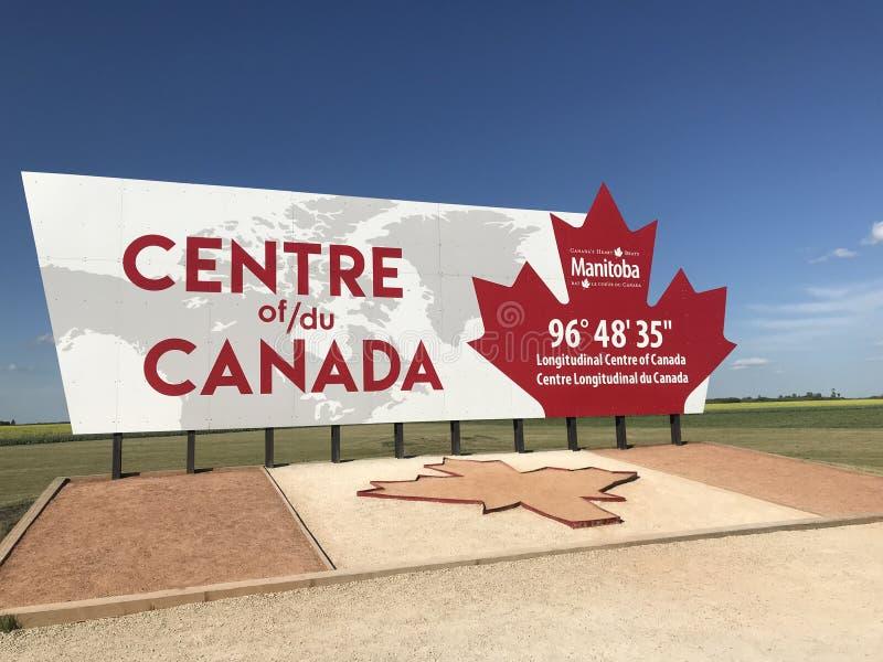 El centro del monumento de Canadá fotos de archivo