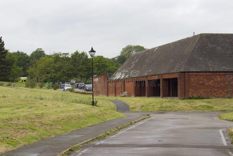 El centro del ocio de Summerfields en la ciudad de Hastings foto de archivo libre de regalías