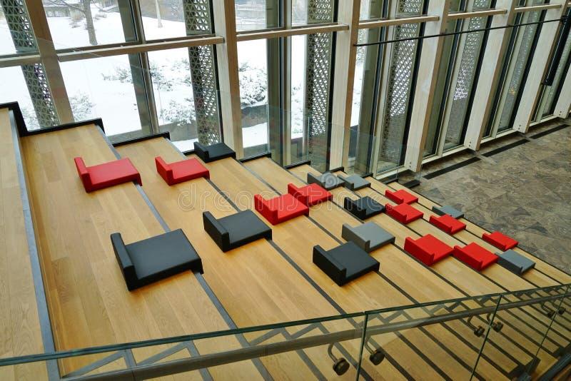 El centro nacional NAC de los artes en Ottawa, Canadá imágenes de archivo libres de regalías