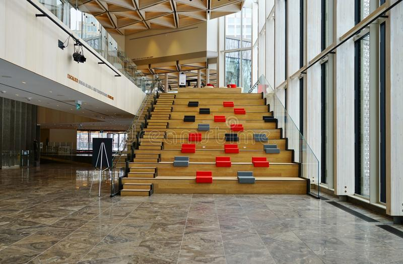 El centro nacional NAC de los artes en Ottawa, Canadá imagenes de archivo