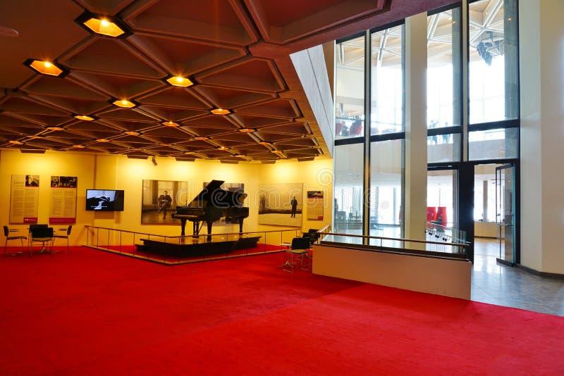 El centro nacional NAC de los artes en Ottawa, Canadá foto de archivo