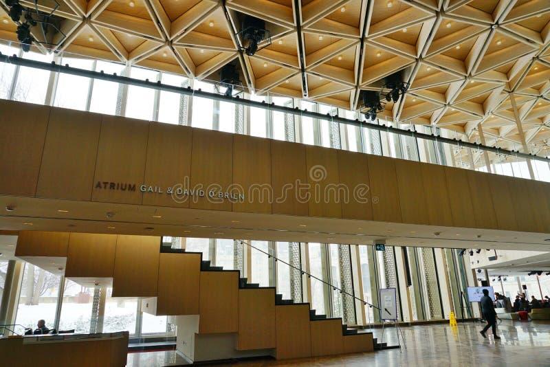 El centro nacional NAC de los artes en Ottawa, Canadá fotos de archivo