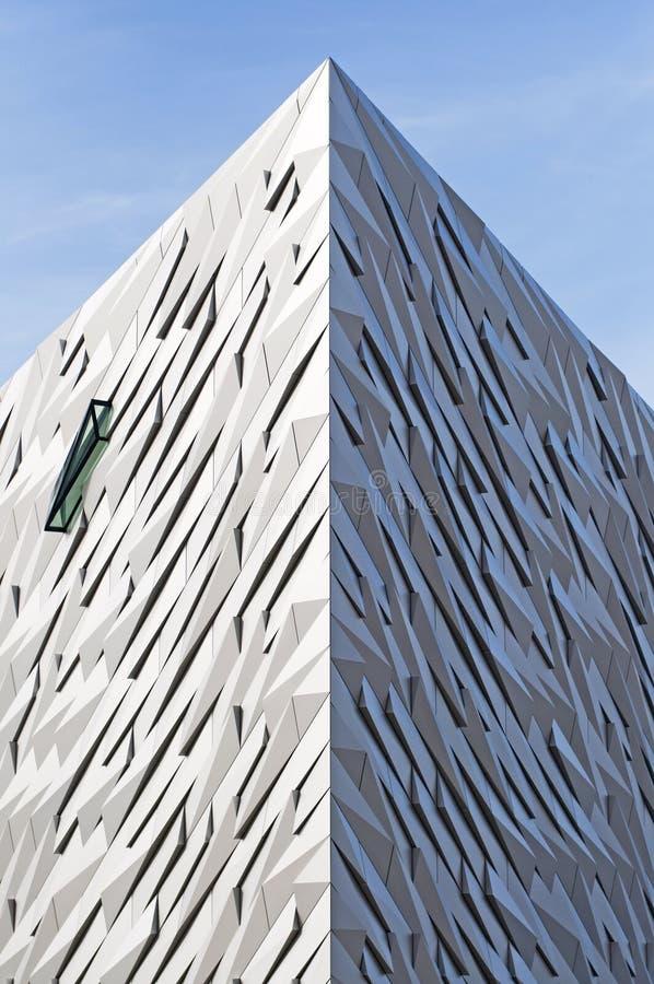 El centro titánico, Belfast imagenes de archivo
