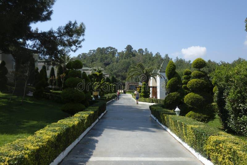 El centro turístico popular Amara Dolce Vita Luxury Hotel foto de archivo libre de regalías