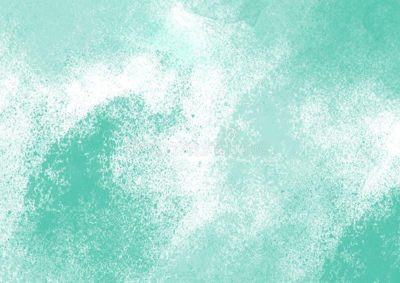 El cepillo del color del gráfico de color de agua de los remiendos frota ligeramente remiendos fotografía de archivo libre de regalías