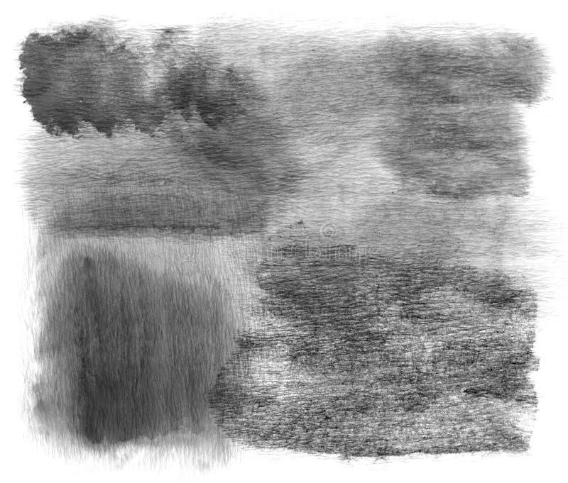 El cepillo frota ligeramente textura stock de ilustración
