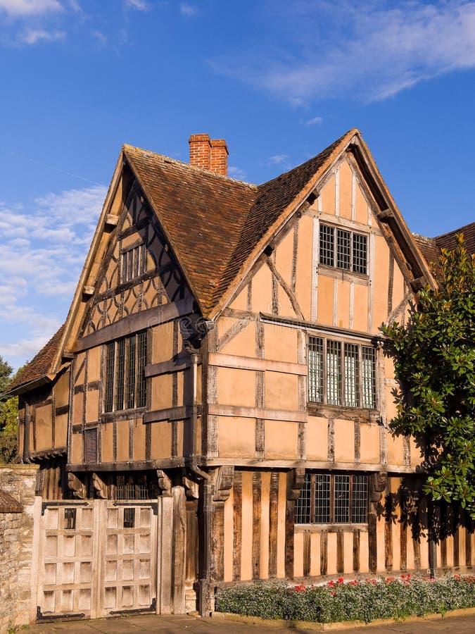 El cercado de Pasillo en Stratford en Avon imagen de archivo libre de regalías