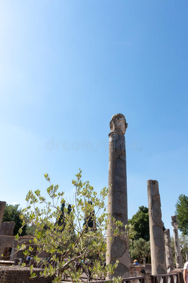 Download El Chalet De Hadrian, Chalet Del Roman Emperor El ', Tivoli, Fuera De Roma, Italia, Europa Imagen de archivo - Imagen de viejo, archaeology: 64211483