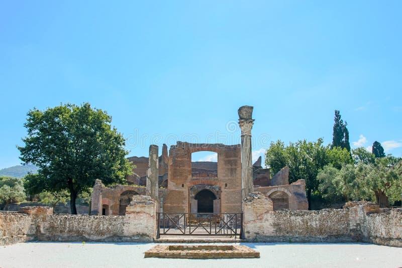 Download El Chalet De Hadrian, Chalet Del Roman Emperor El ', Tivoli, Fuera De Roma, Italia, Europa Imagen de archivo - Imagen de histórico, señal: 64211591