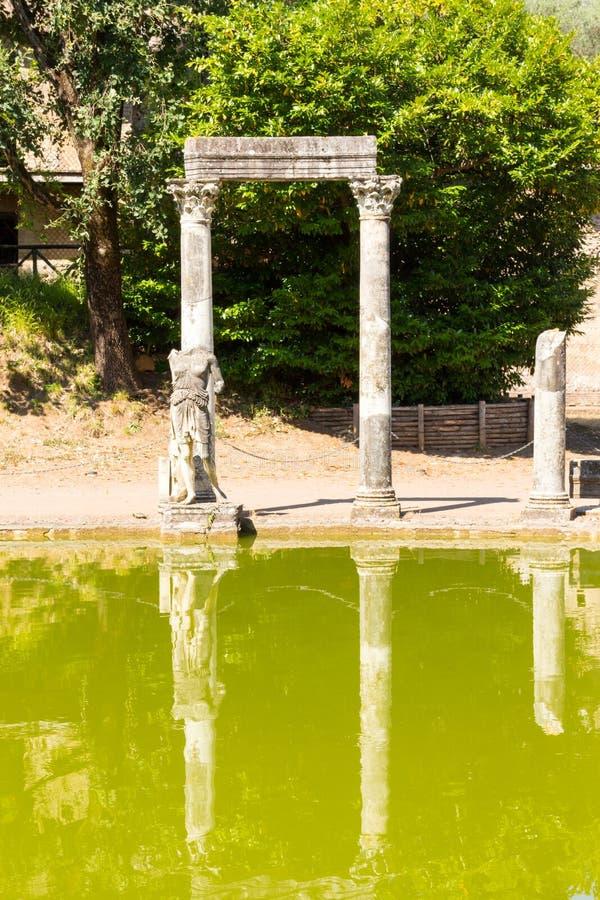 Download El Chalet De Hadrian, Chalet Del Roman Emperor El ', Tivoli, Fuera De Roma, Italia, Europa Imagen de archivo - Imagen de adriana, famoso: 64213197