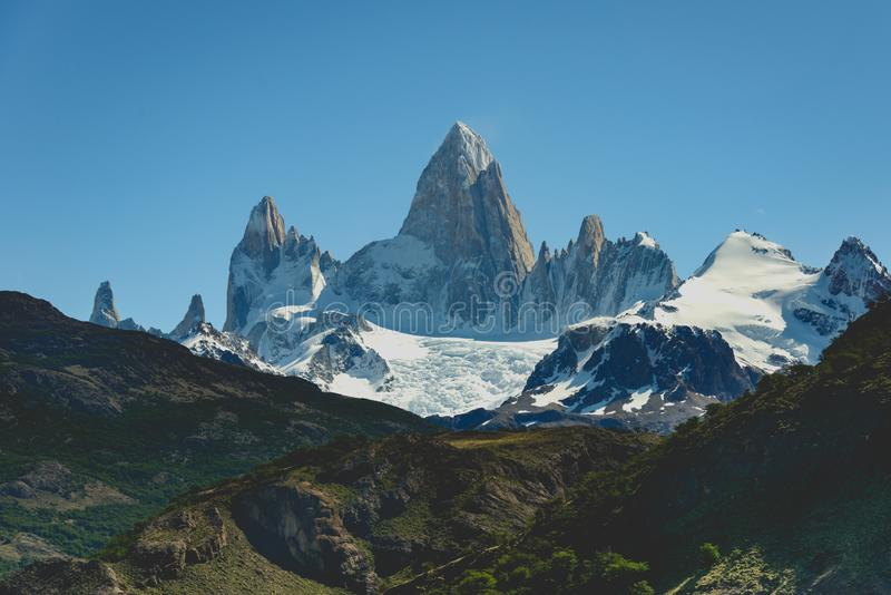 El Chalten, Santa Cruz, Argentina. royalty free stock image