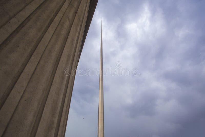 El chapitel Dublín, Irlanda foto de archivo