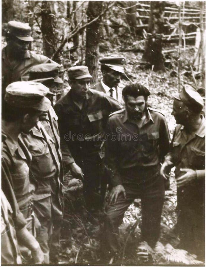 El Che Guevara en Argelia 1 royalty free stock image