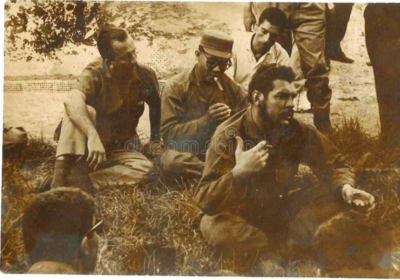 El Che Guevara en Argelia 2 royalty free stock images
