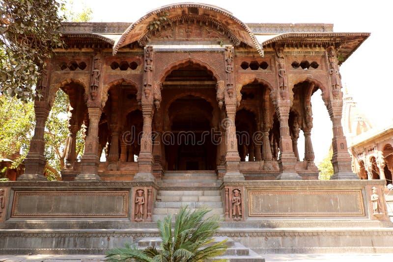 El Chhattris de Indore imagen de archivo