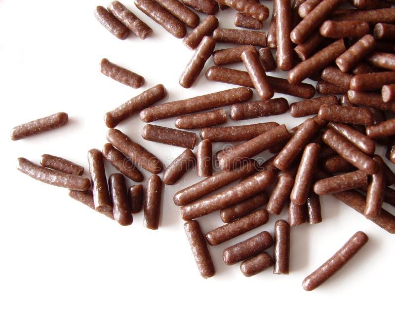 El chocolate asperja fotografía de archivo libre de regalías