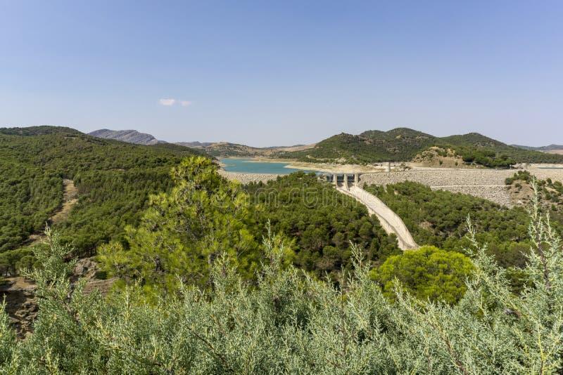EL Chorro Provincia di Malaga spain fotografie stock libere da diritti