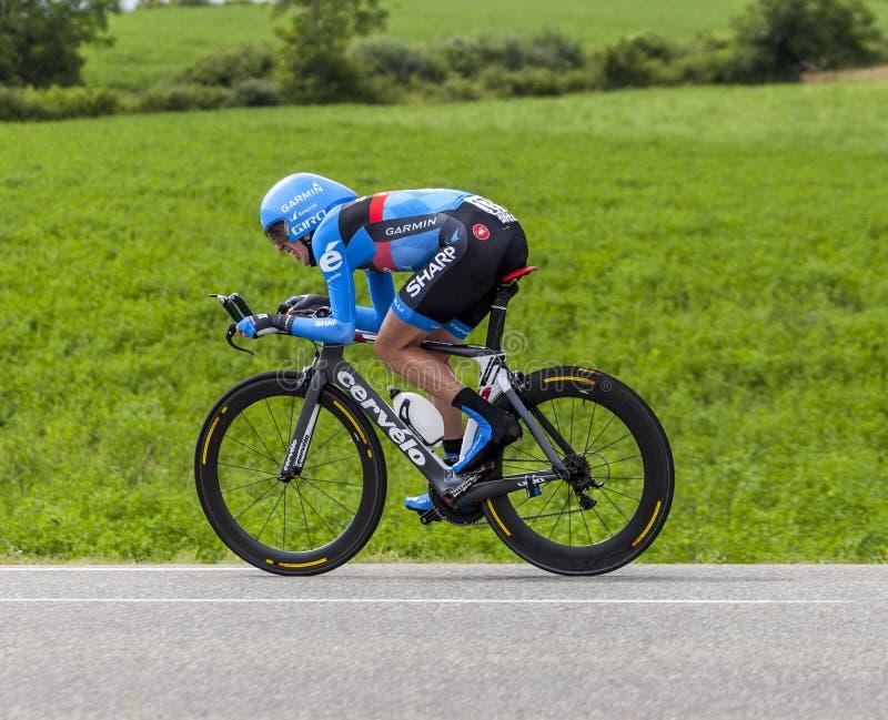 El Ciclista Daniel Martin Imagen editorial