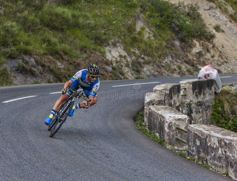 El Ciclista Michael Albasini Imagen de archivo editorial