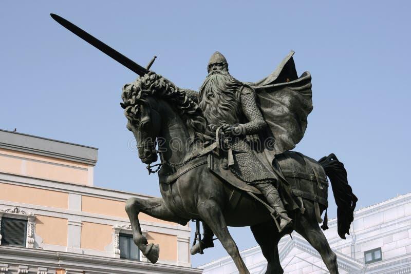 El Cid - Spanish hero royalty free stock images