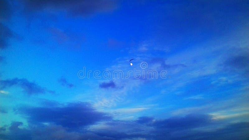 El cielo azul imagen de archivo libre de regalías